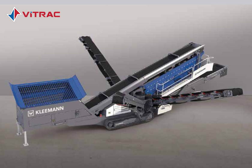 Máy sàng đá Kleemann MS 703 EVO - Mobiscreen Loại di động
